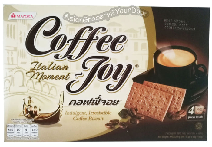 Mayora - Coffee Joy Biscuit - 6.3 oz / 180 g - Asiangrocery2yourdoor