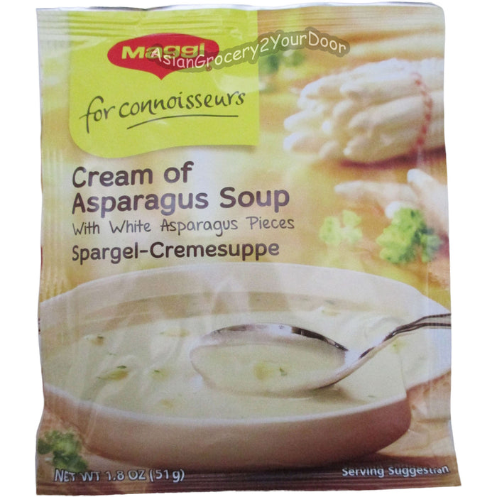 Maggi - Cream of Asparagus Soup - 1.8 oz / 51 g - Asiangrocery2yourdoor