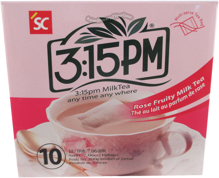 3:15 PM - Rose Fruity Milk Tea - 7.06 oz / 200 g - Asiangrocery2yourdoor