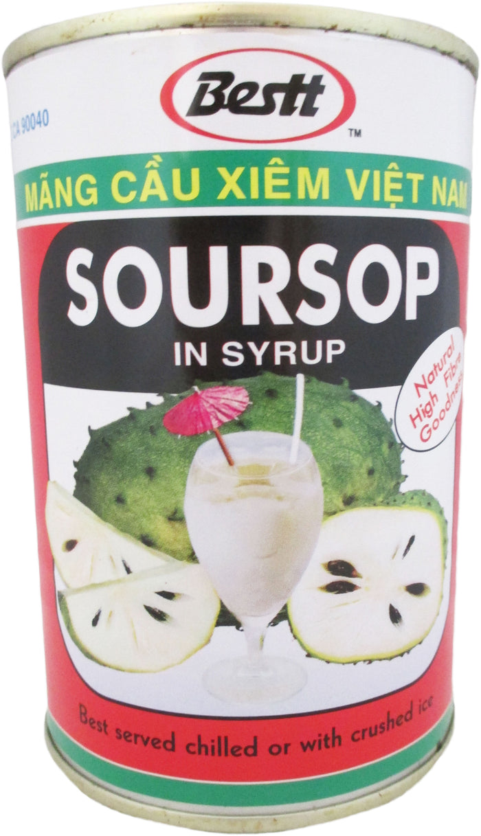 Bestt - Soursop in Syrup - 14 oz / 396.9 g - Asiangrocery2yourdoor