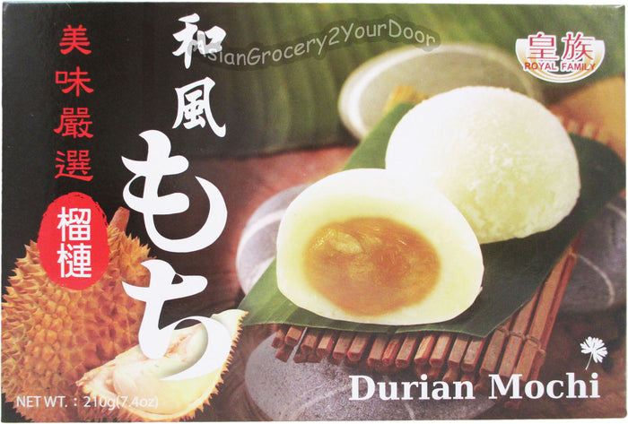 Royal Family - Durian Mochi - 7.4 oz / 210 g - Asiangrocery2yourdoor