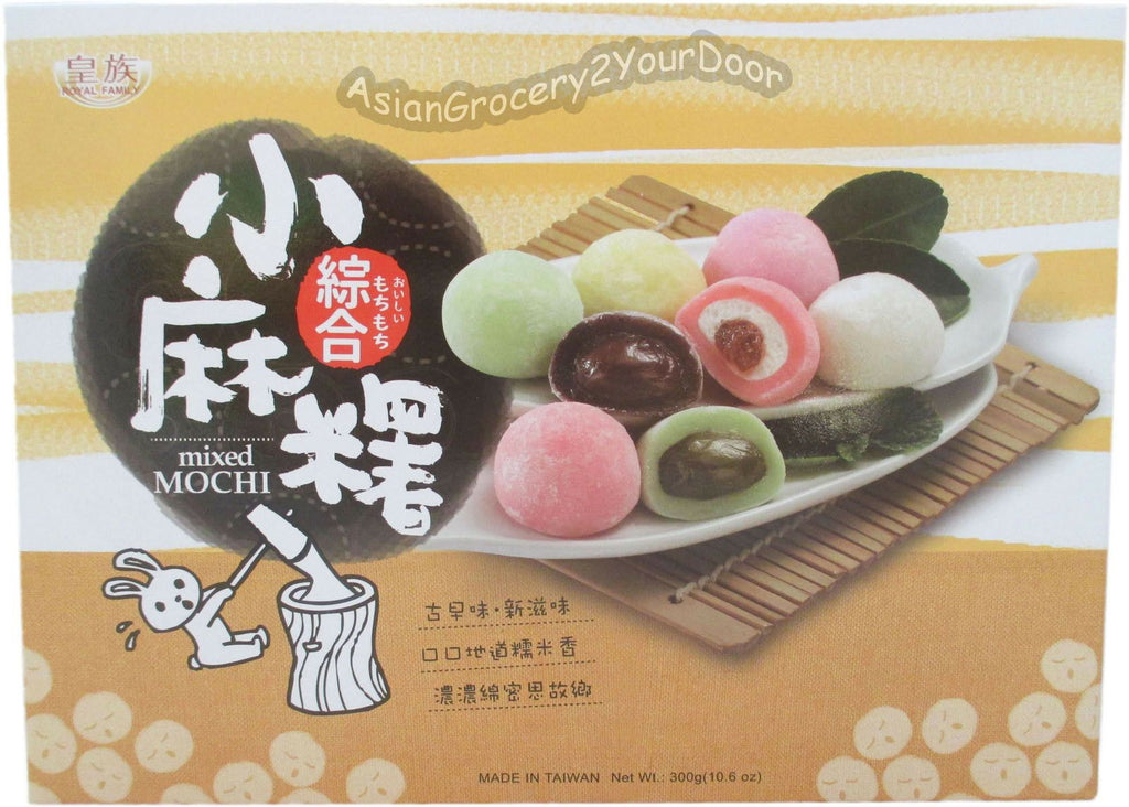 Royal Family - Mixed Mochi - 10.6 oz / 300 g - Asiangrocery2yourdoor