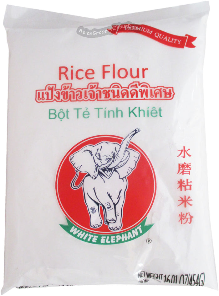 Caravelle - White Elephant Rice Flour - 16.01 oz / 454 g - Asiangrocery2yourdoor