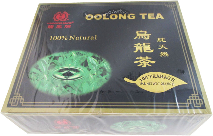 Caravelle - Lungfung Oolong Natural Tea - 7 oz / 200 g - Asiangrocery2yourdoor