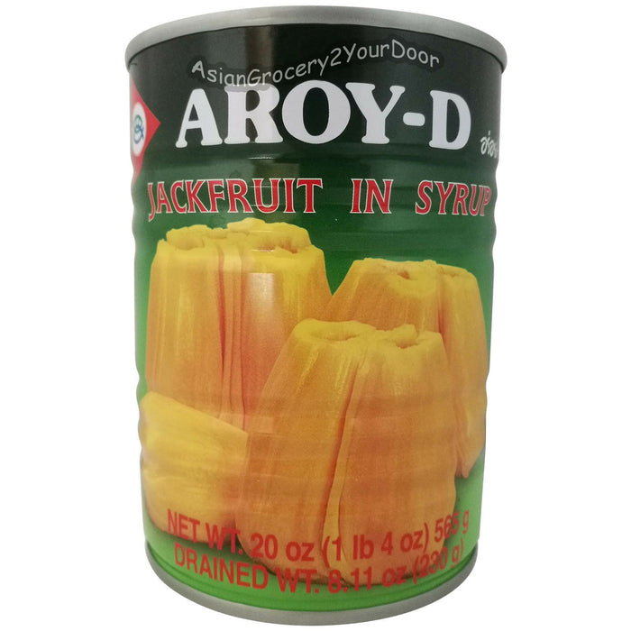 Aroy-D - Jackfruit in Syrup - 20 oz / 565 g - Asiangrocery2yourdoor