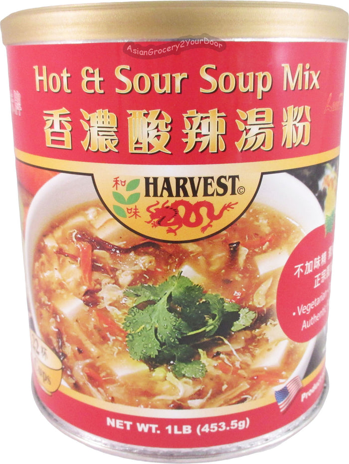 Harvest - Hot & Sour Soup Mix - 16 oz / 1 lb - Asiangrocery2yourdoor