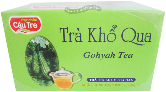 Cau Tre - Gohyah Tea - 3.5 oz / 100 g - Asiangrocery2yourdoor