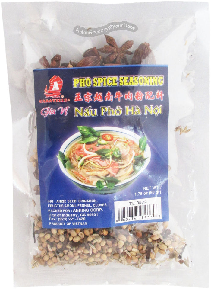 Caravelle - Gia Vi Pho Spice Seasoning - 1.76 oz / 50 g - Asiangrocery2yourdoor