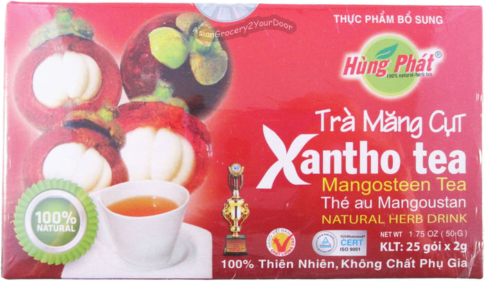 Hung Phat - Xantho Mangosteen Tea - 1.75 oz / 50 g - Asiangrocery2yourdoor