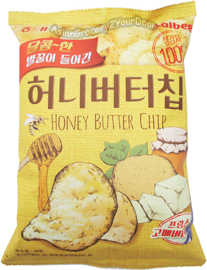 Haitai Calbee - Honey Butter Chip - 2.17 oz / 60 g - Asiangrocery2yourdoor