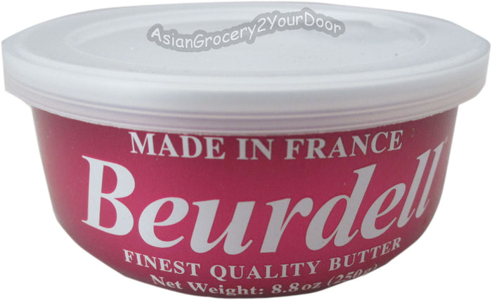 Beurdell - French Salted Butter - 8.8 oz / 250 g - Asiangrocery2yourdoor