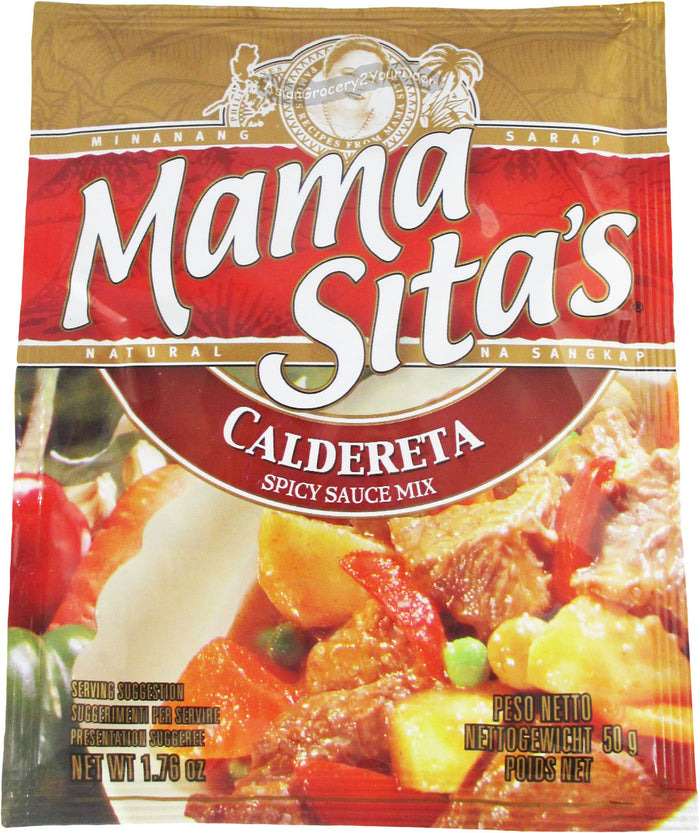 Mama Sita's - Caldereta Spicy Sauce Mix - 1.76 oz / 50 g - Asiangrocery2yourdoor