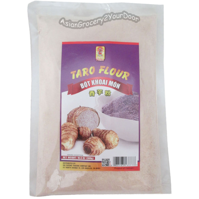 Fortuna - Taro Flour - 10.5 oz / 300 g - Asiangrocery2yourdoor
