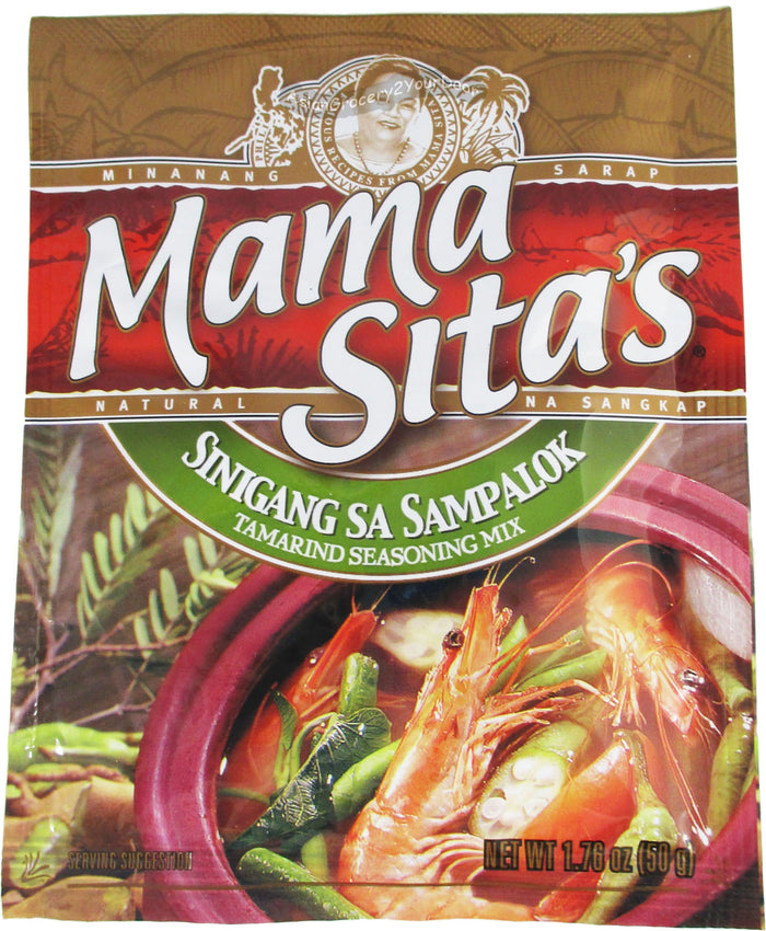 Mama Sita's - Sinigang Sa Sampalok Tamarind Seasoning Mix - 1.76 oz / 50 g - Asiangrocery2yourdoor