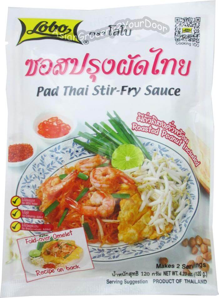 Lobo - Pad Thai Stir-Fry Sauce - 4.23 oz / 120 g - Asiangrocery2yourdoor