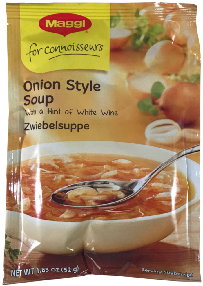 Maggi - Onion Style Soup - 1.83 oz / 52 g - Asiangrocery2yourdoor