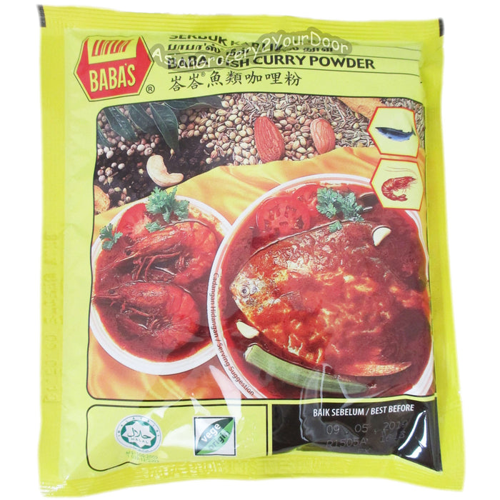 Baba - Fish Curry Powder - 8.82 oz / 250 g - Asiangrocery2yourdoor
