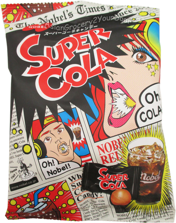 Nobel - Super Cola Candy - 3.1 oz / 88 g - Asiangrocery2yourdoor