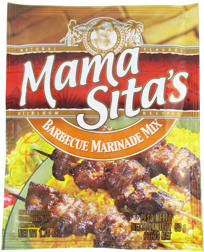 Mama Sita's - Barbecue Marinade Mix - 1.76 oz / 50 g - Asiangrocery2yourdoor
