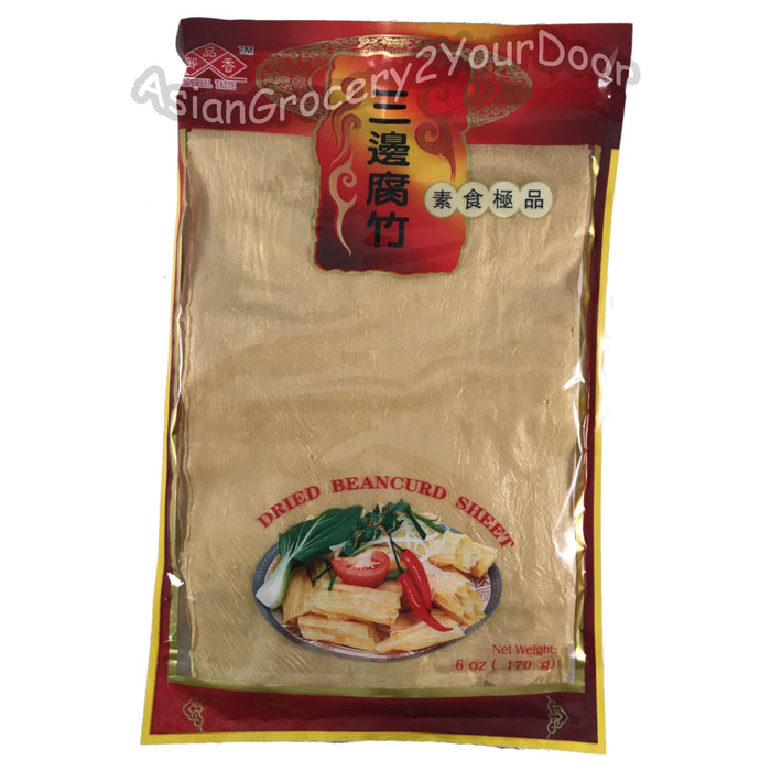 Imperial Taste - Dried Beancurd Sheets - 6 oz / 170 g - Asiangrocery2yourdoor
