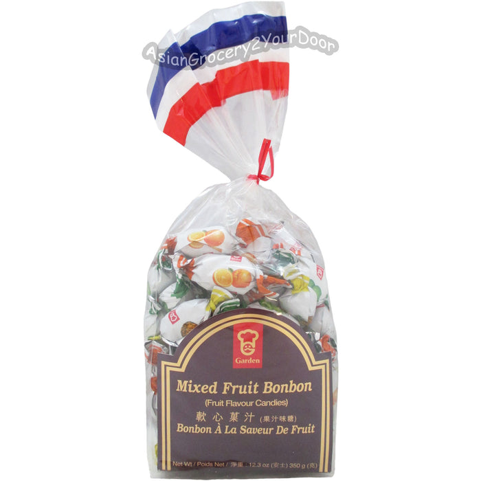 Garden - Mixed Fruit Bonbon Candies - 12.3 oz / 350 g - Asiangrocery2yourdoor