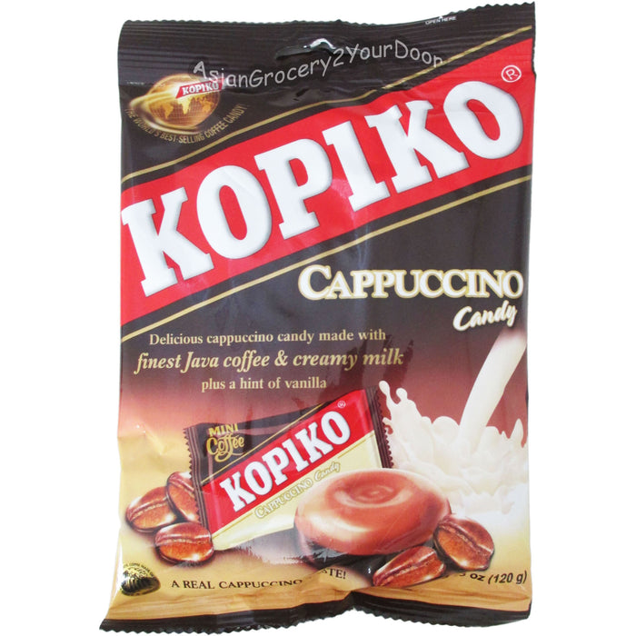 Kopiko - Cappuccino Candy - 4.23 oz / 120 g - Asiangrocery2yourdoor