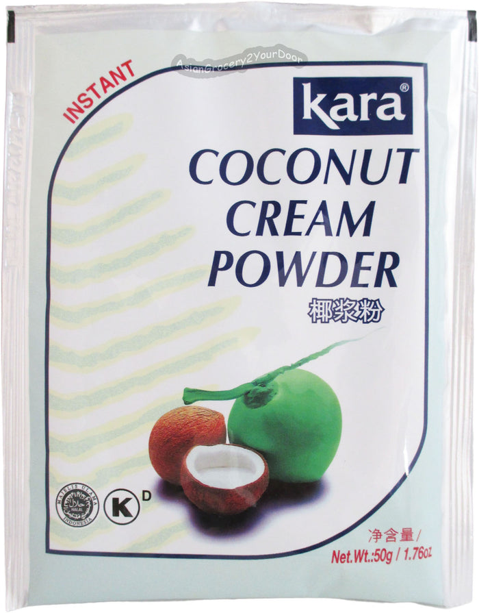 Kara - Instant Coconut Cream Powder - 1.76 oz / 50 g - Asiangrocery2yourdoor