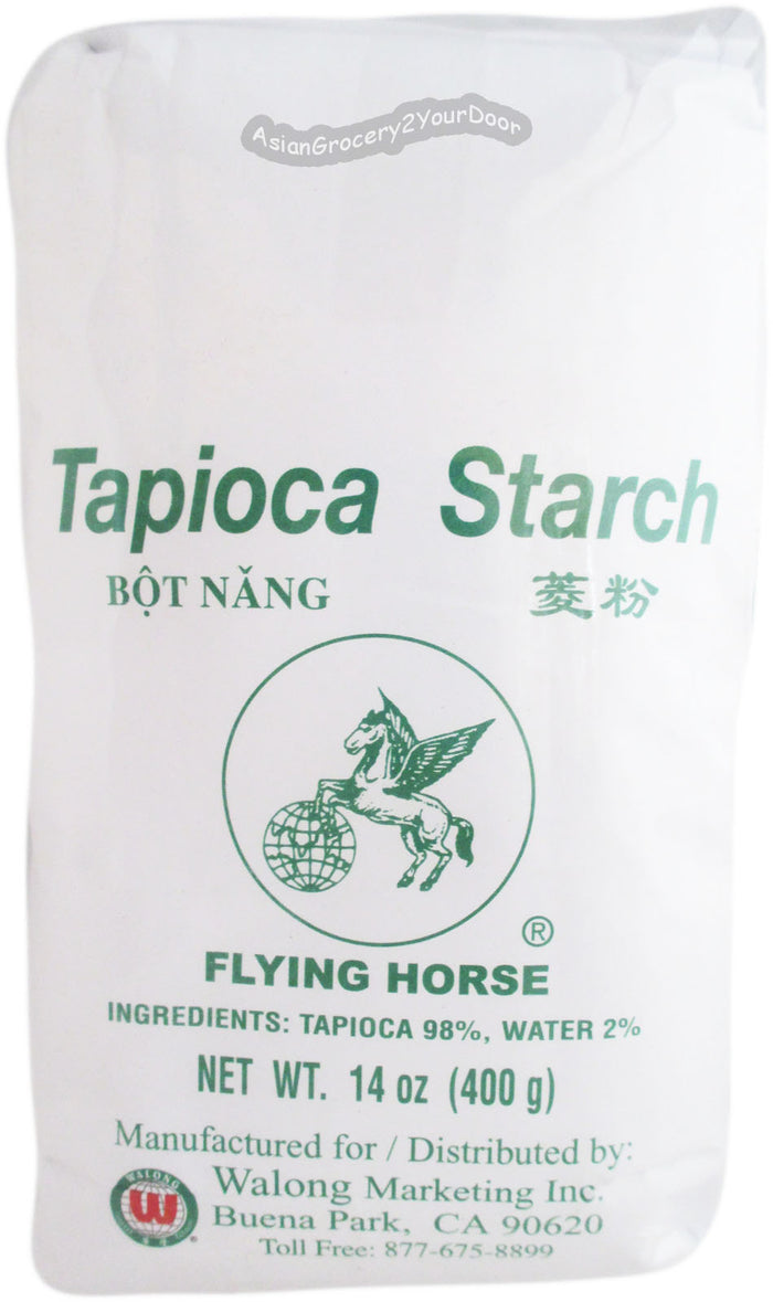 Flying Horse - Tapioca Starch - 14 oz / 400 g - Asiangrocery2yourdoor