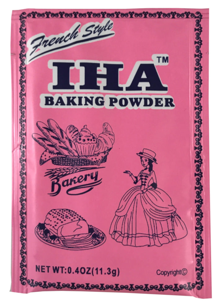Iha - French Style Baking Powder - 3.2 oz / 90.4 g - Asiangrocery2yourdoor