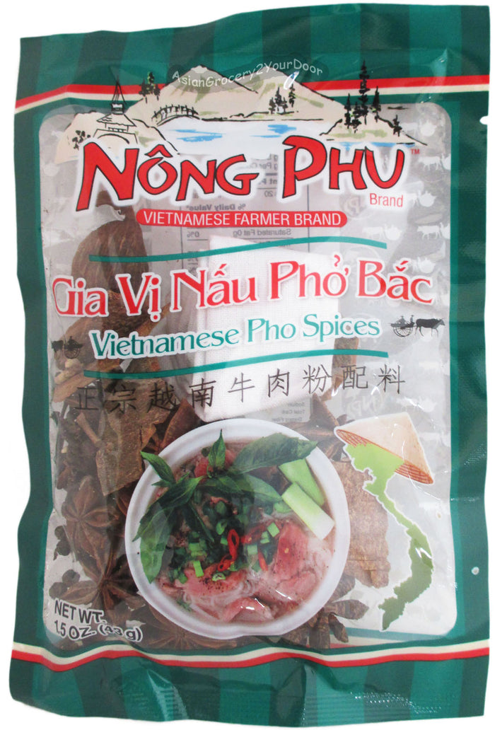 Nong Phu - Vietnamese Pho Spices - 1.5 oz / 43 g - Asiangrocery2yourdoor