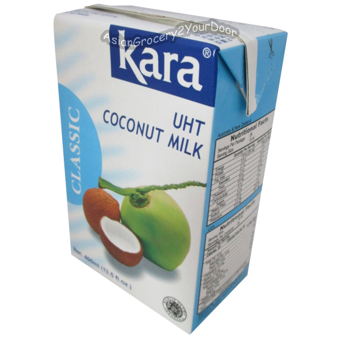 Kara - Classic Coconut Milk - 13.5 fl oz / 400 ml - Asiangrocery2yourdoor