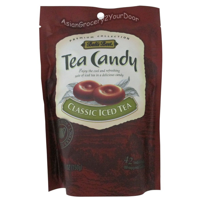 Bali's Best - Classic Iced Tea Candy - 5.3 oz / 150 g - Asiangrocery2yourdoor