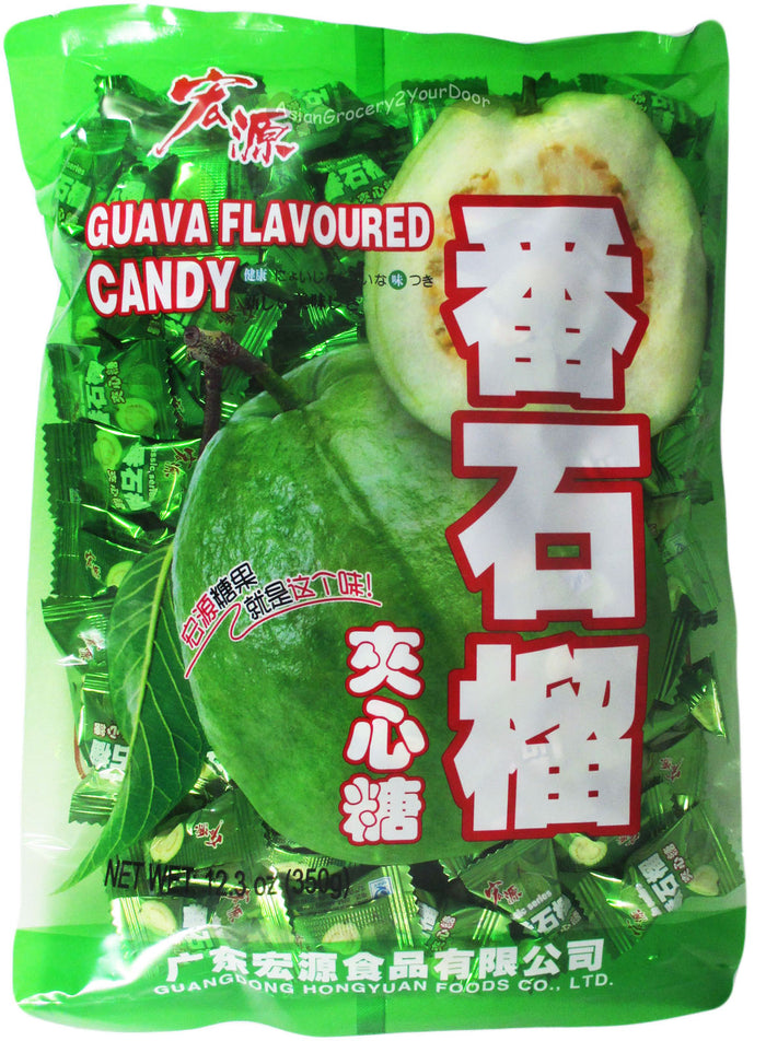 Caravelle - Hongyuan Guava Flavored Candy - 12.3 oz / 350 g - Asiangrocery2yourdoor
