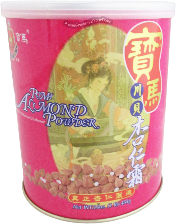 Po Ma - Almond Powder Mix Drink - 16 oz / 454 g - Asiangrocery2yourdoor