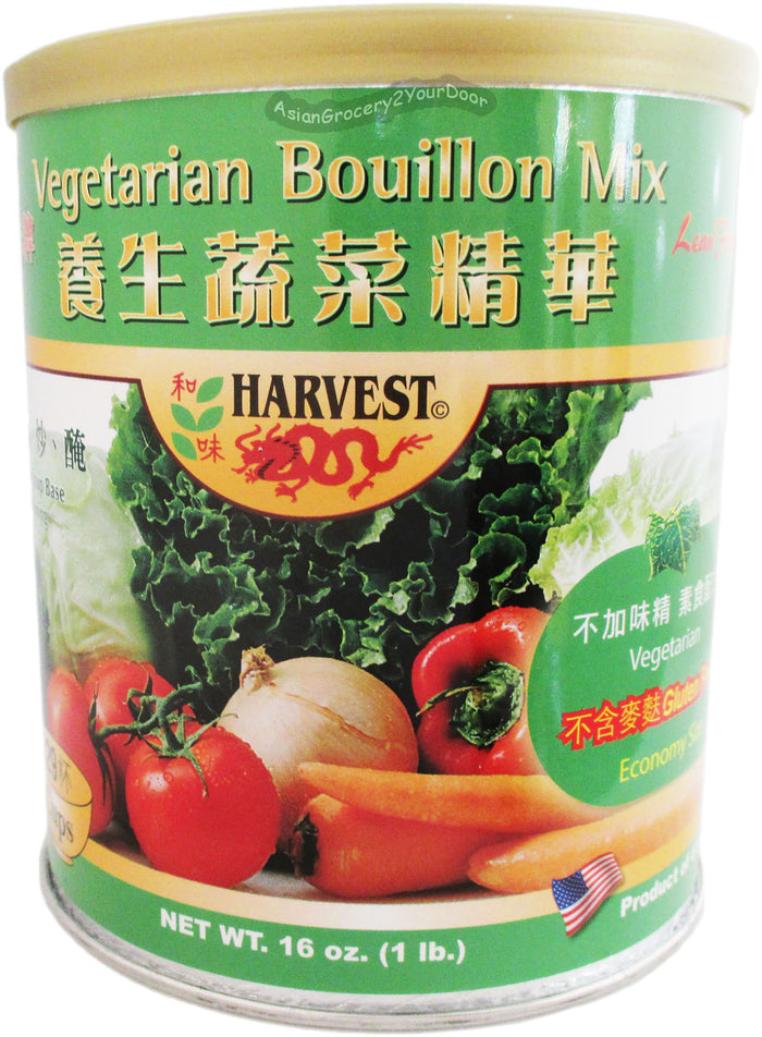 Harvest - Vegetarian Bouillon Mix - 16 oz / 1 lb - Asiangrocery2yourdoor