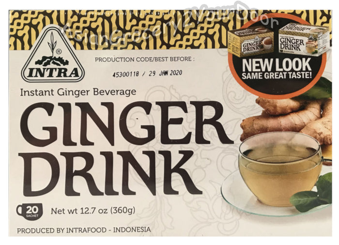 Intra - Instant Ginger Drink - 12.7 oz / 360 g - Asiangrocery2yourdoor