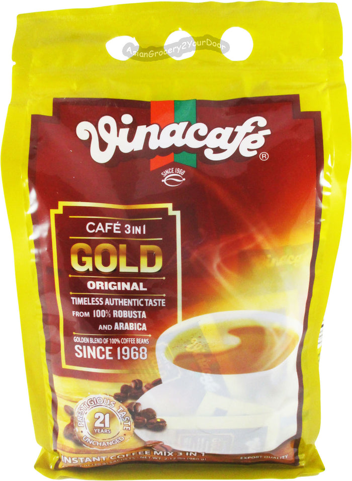 Vinacafe - Gold Original Coffee Mix- 33.9 oz / 960 g - Asiangrocery2yourdoor