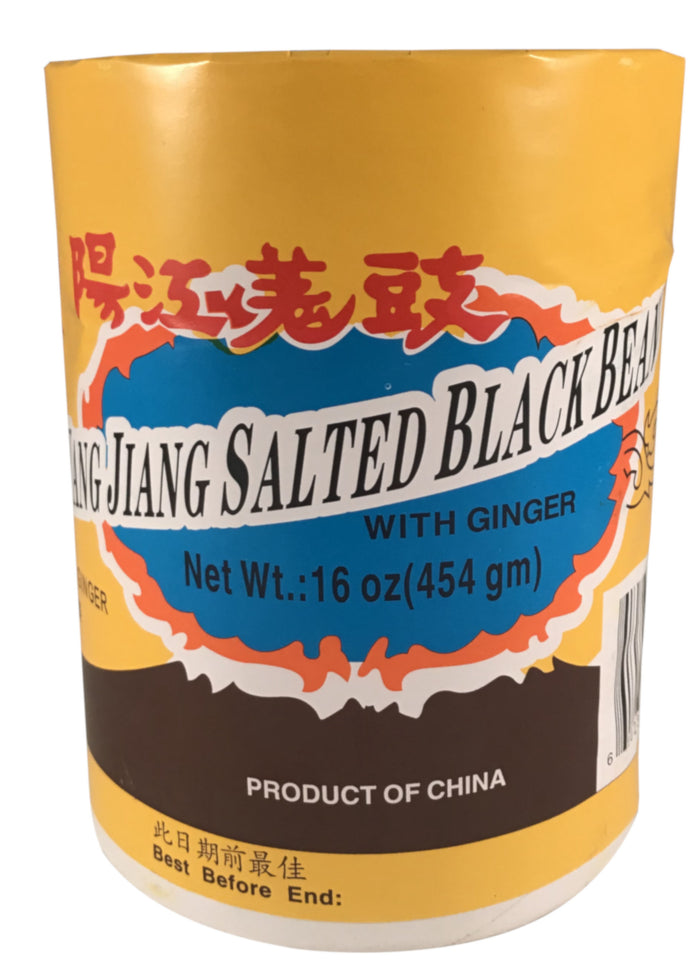 Yang Jiang - Salted Black Bean with Ginger - 16 oz / 454 g - Asiangrocery2yourdoor