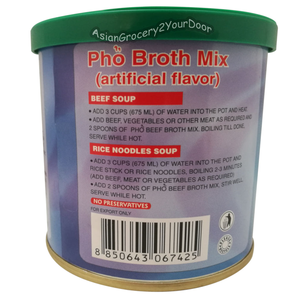 Lee Brand - Pho Broth Mix - 8 oz / 227 g - Asiangrocery2yourdoor
