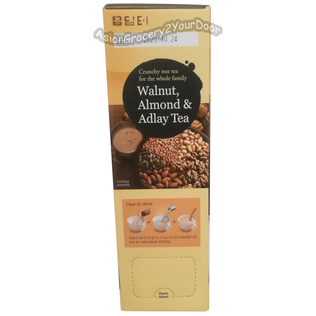 Damtuh - Walnut, Almond and Adlay Tea - 31.7 oz / 900 g - Asiangrocery2yourdoor