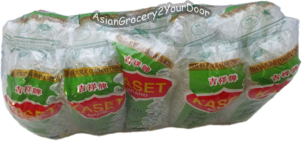 Kaset - Bean Thread Glass Noodles - 4.9 oz / 140 g - Asiangrocery2yourdoor