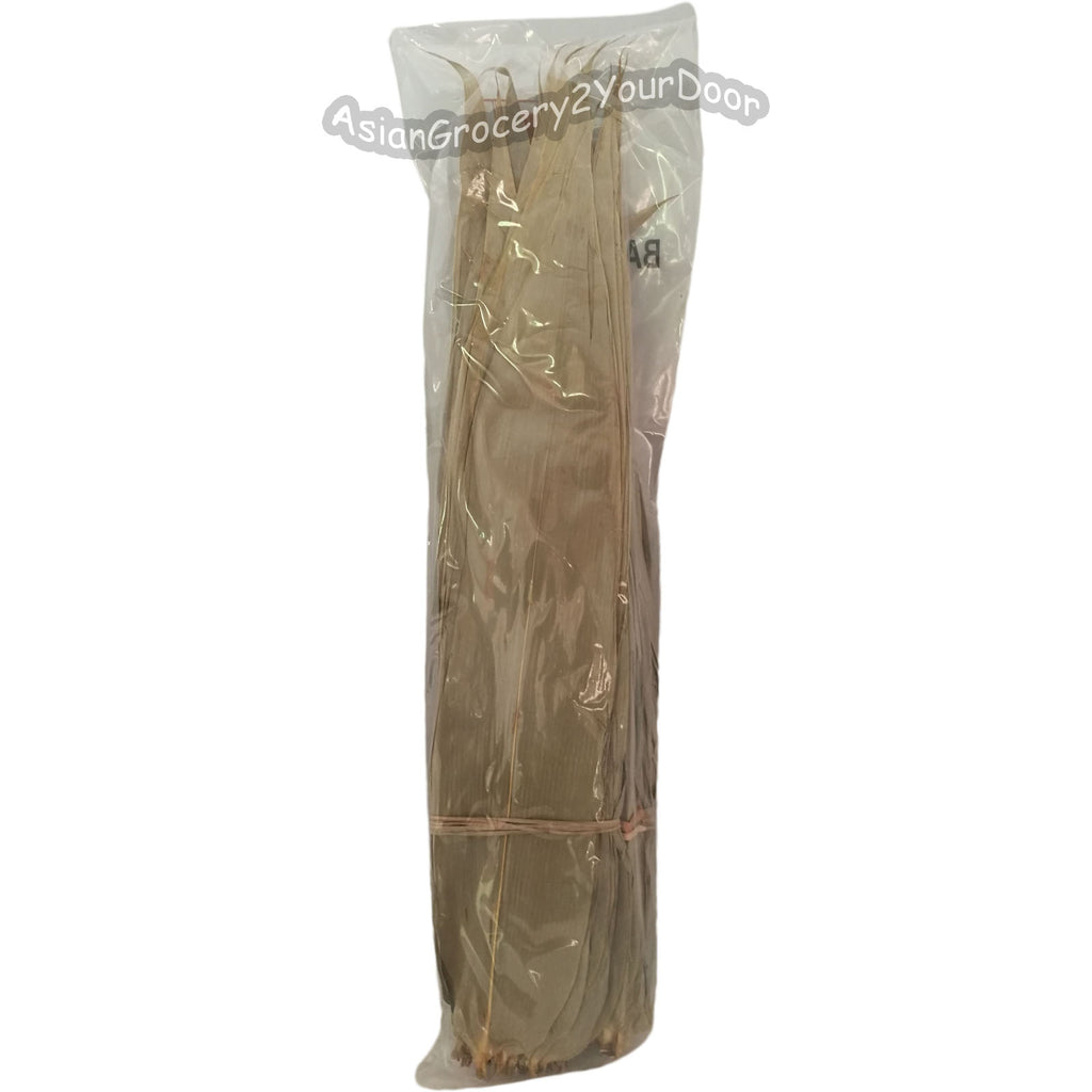Golden Banyan - Whole Bamboo Leaves for Making Zongzi - 12 oz / 340 g - Asiangrocery2yourdoor