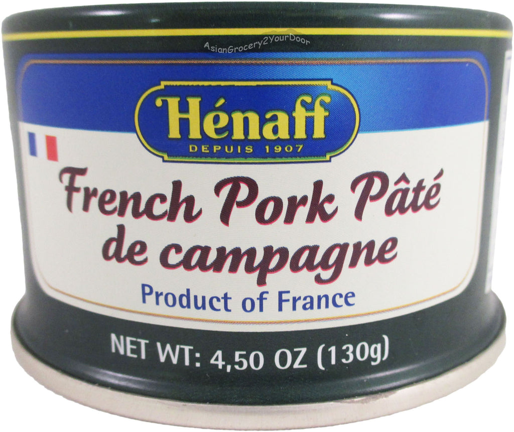 Henaff - French Pork Pate - 4.5 oz / 130 g - Asiangrocery2yourdoor