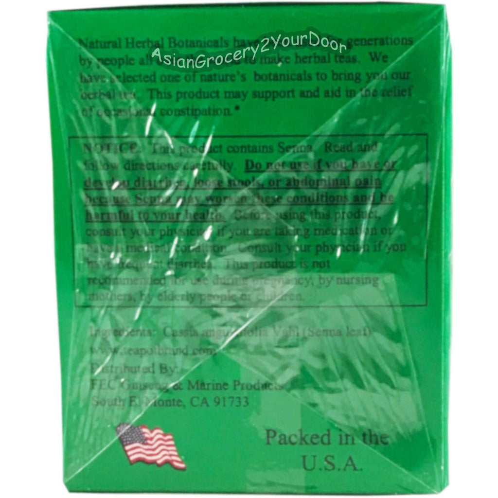 China Slim Tea - Super Herbal Tea - 1.90 oz / 54 g - Asiangrocery2yourdoor