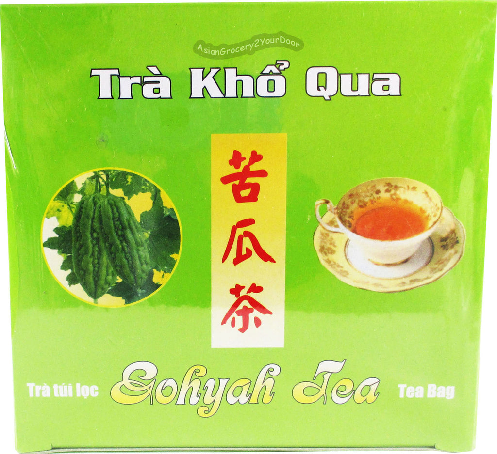Sword Fish Brand - Gohyah Bitter Gourd Tea - 3.5 oz / 100 g - Asiangrocery2yourdoor