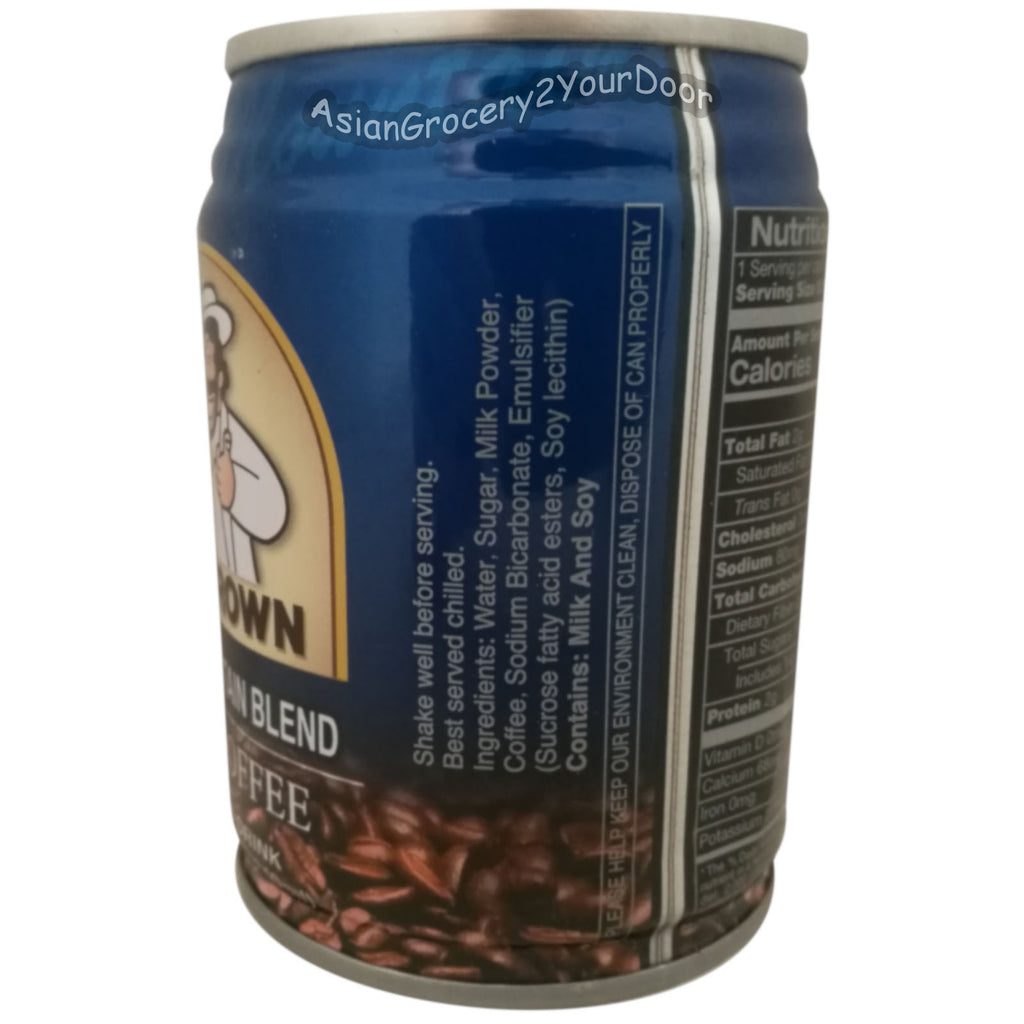 Mr. Brown - Blue Mountain Blend Iced Coffee - 8.12 fl oz / 240 ml - Asiangrocery2yourdoor