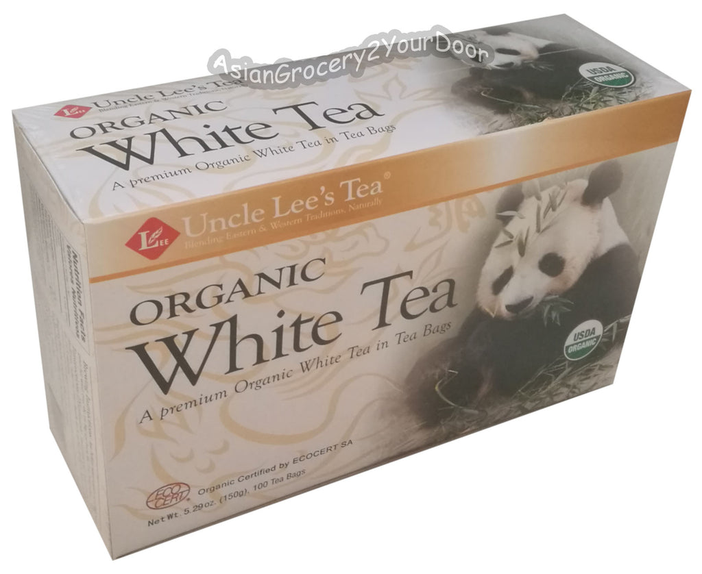 Uncle Lee's Organic White Tea - 5.29 oz / 150 g - Asiangrocery2yourdoor