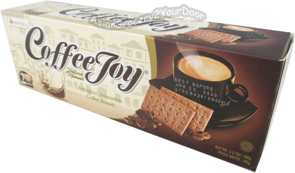 Mayora - Coffee Joy Biscuit - 3.2 oz / 90 g - Asiangrocery2yourdoor