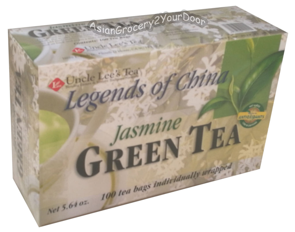 Uncle Lee's Jasmine Green Tea - 5.64 oz / 160 g - Asiangrocery2yourdoor