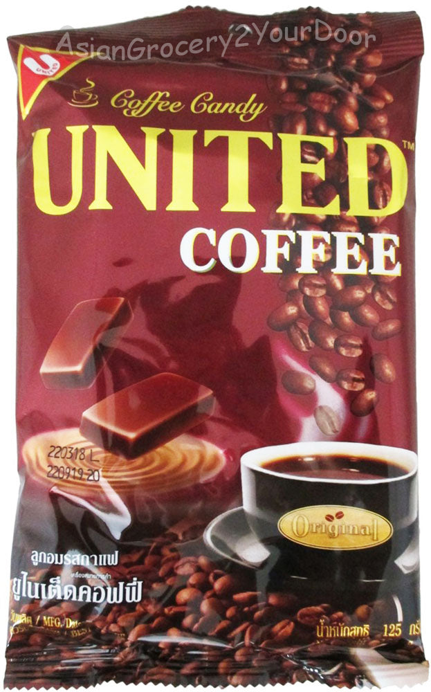 United - Coffee Candy - 4.37 oz / 125 g